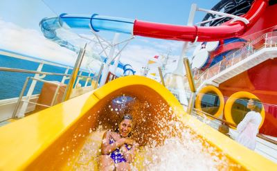Disney Magic aquadunk water slide