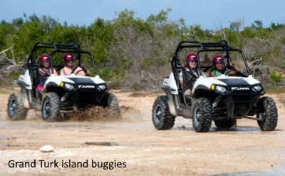 Grand Turk beach buggies